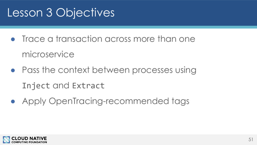 ● Trace a transaction across more than one micr...