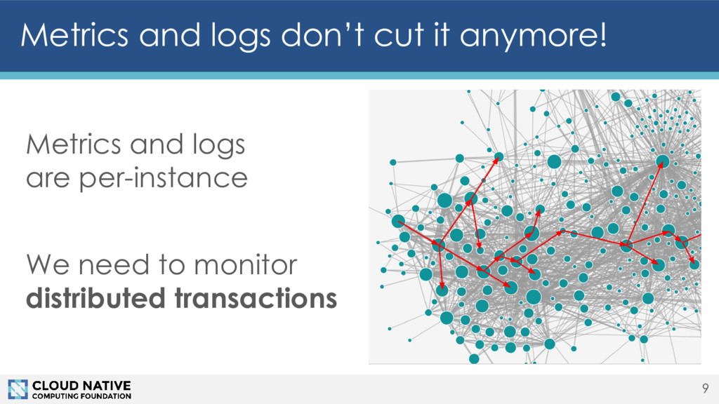 Metrics and logs are per-instance We need to mo...