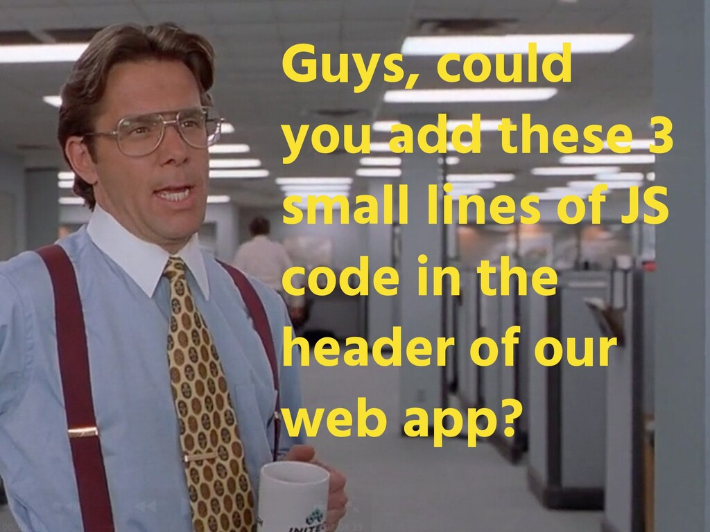Guys, could you add these 3 small lines of JS c...