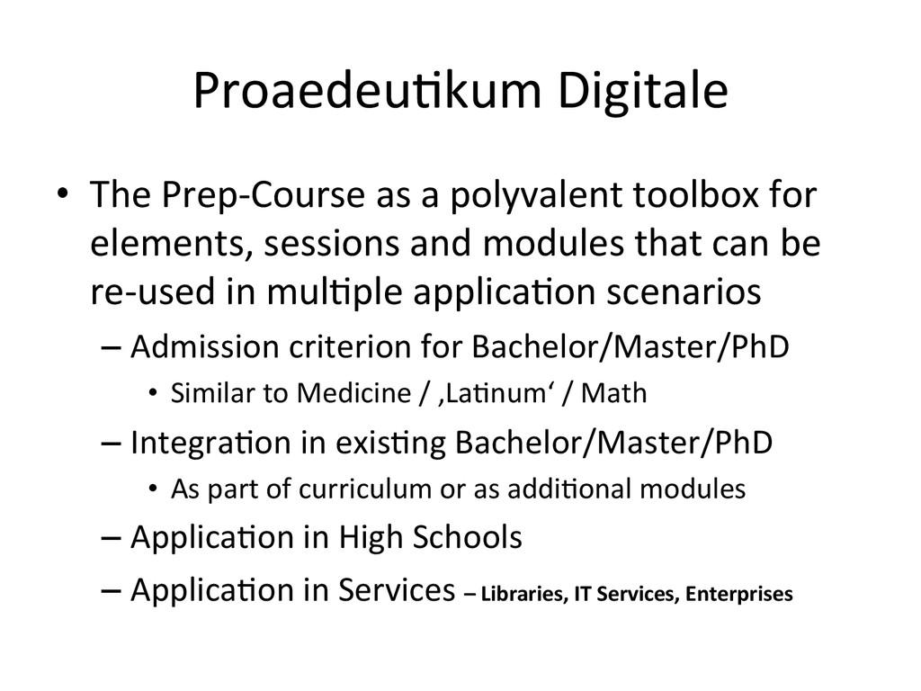 ProaedeuHkum Digitale  • The Prep-‐C...