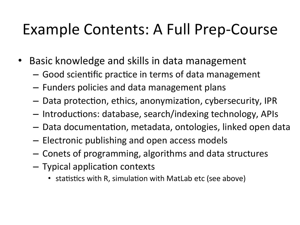 Example Contents: A Full Prep-‐Cou...