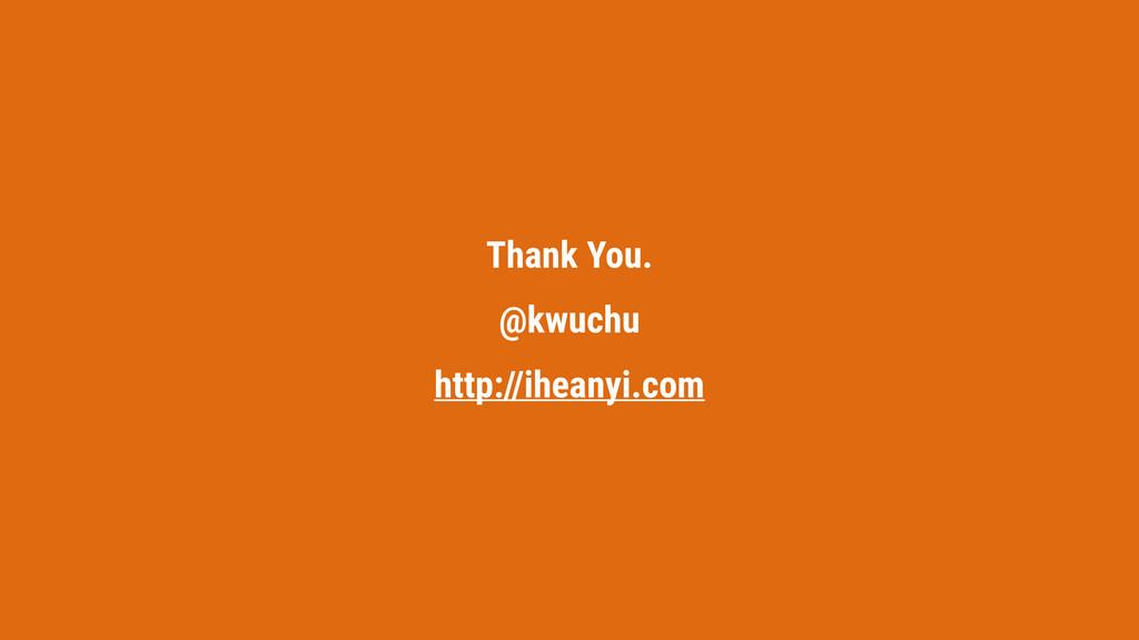 Thank You. @kwuchu http://iheanyi.com