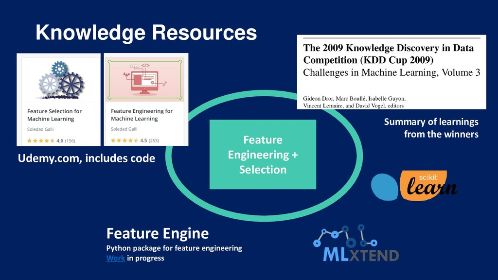 Knowledge Resources Feature Engineering + Selec...
