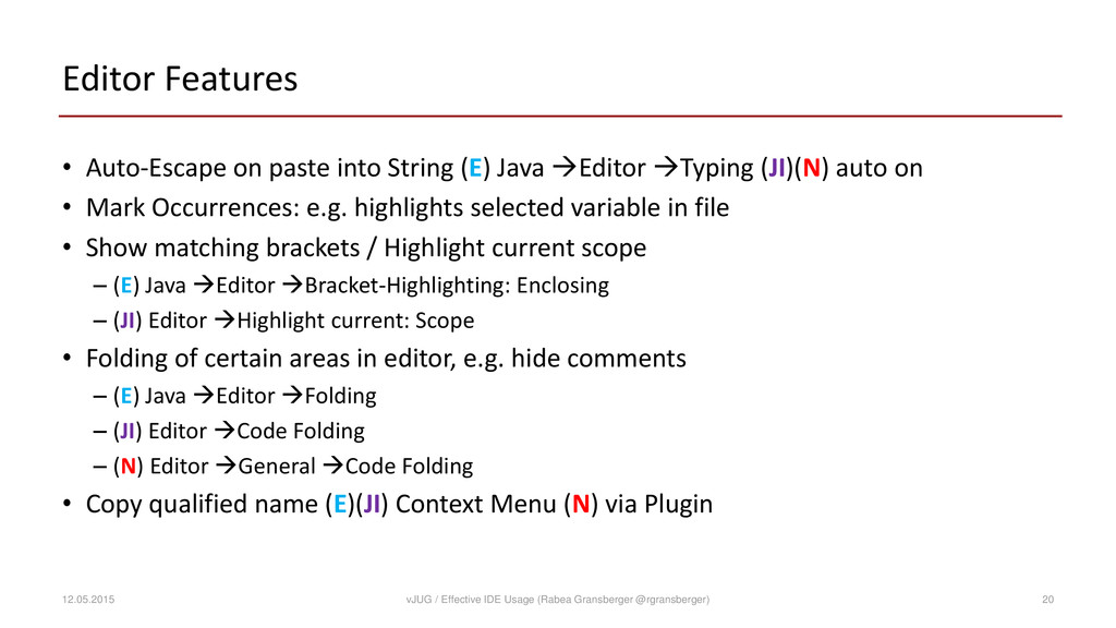 Editor Features • Auto-Escape on paste into Str...