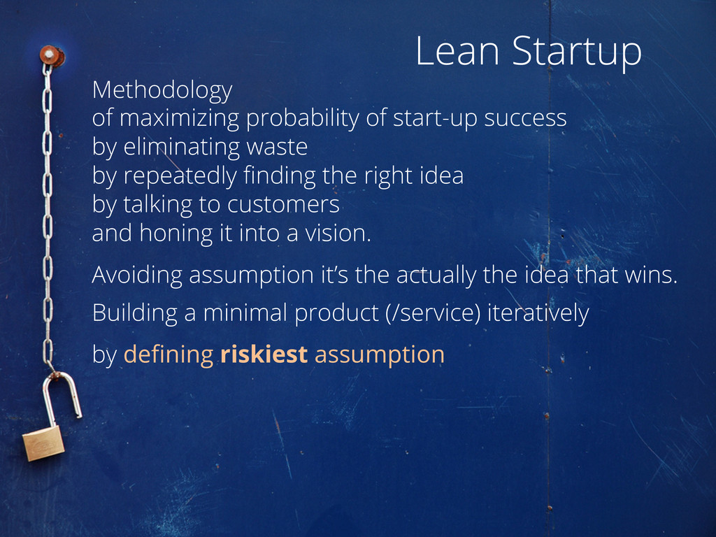 Methodology of maximizing probability of start-...