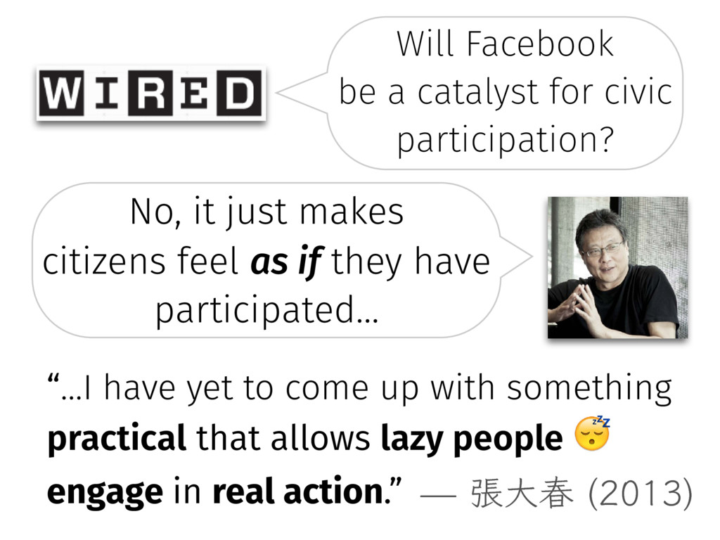 Will Facebook � be a catalyst for civic partici...