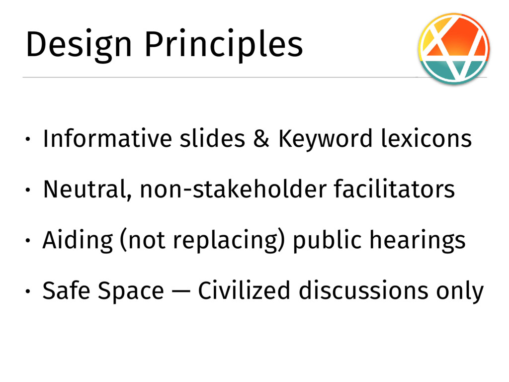 Design Principles � Informative slides & Keywor...