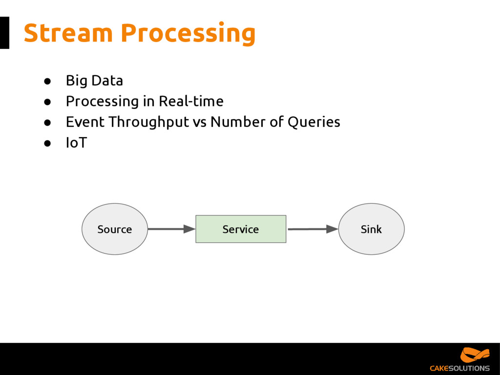 Stream Processing ● Big Data ● Processing in Re...