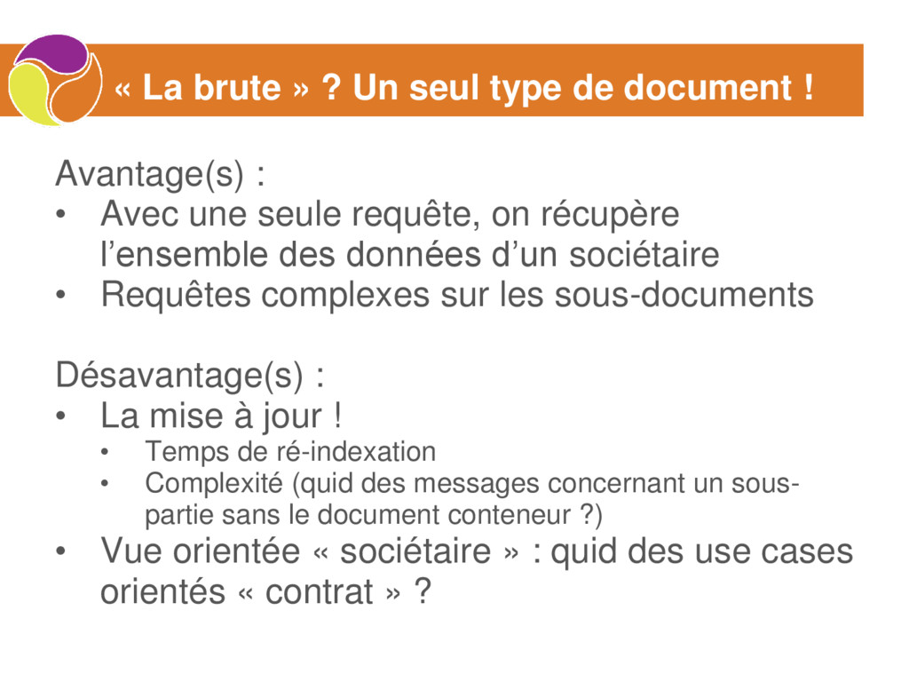 « La brute » ? Un seul type de document ! Avant...