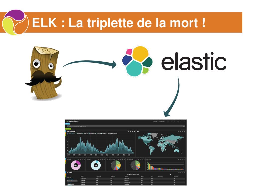 ELK : La triplette de la mort !