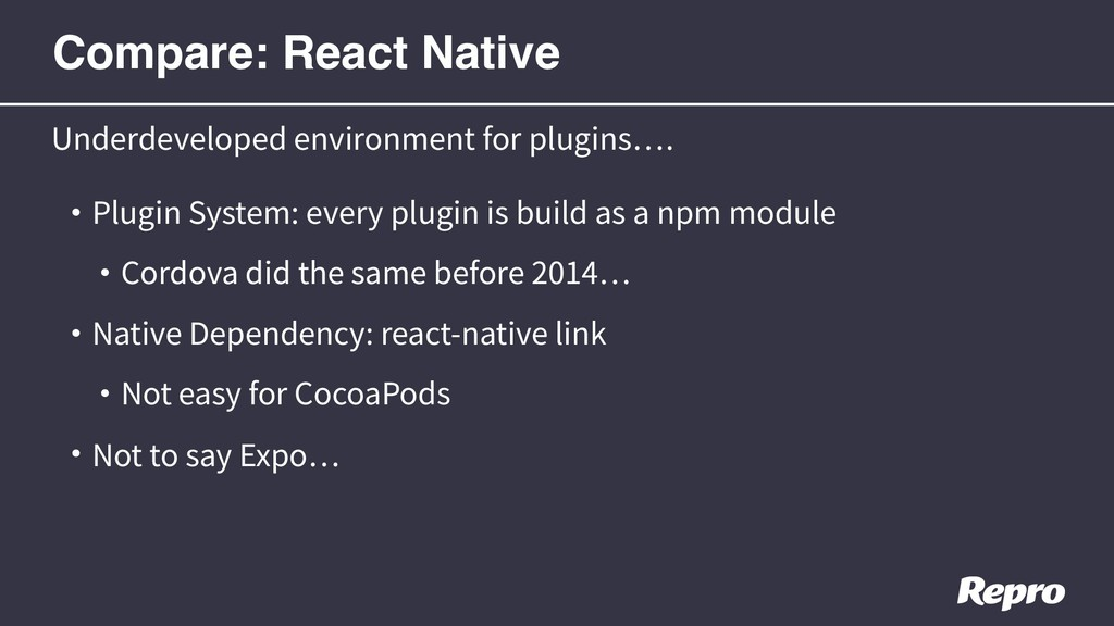 • Plugin System: every plugin is build as a npm...