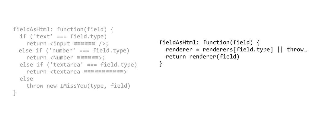 fieldAsHtml: function(field) {   ...