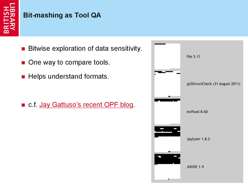 Bit-mashing as Tool QA n Bitwise exploration ...