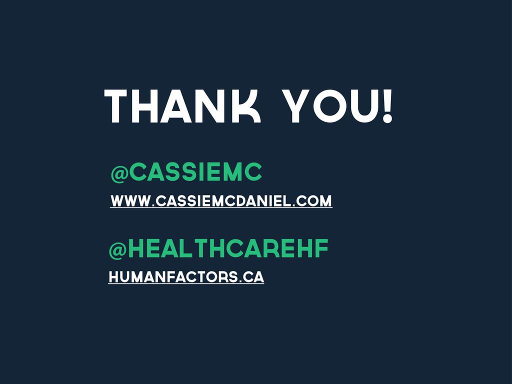 thank you! @cassiemc www.cassiemcdaniel.com @he...