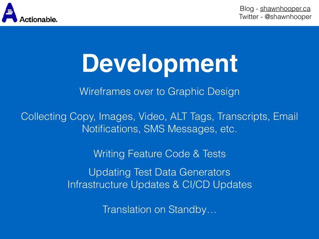 Development Blog - shawnhooper.ca Twitter - @s...