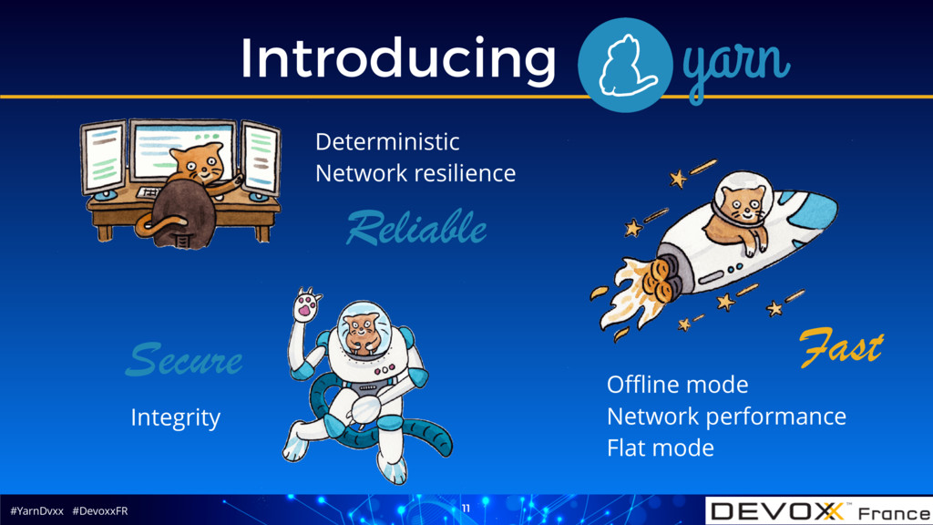 #YarnDvxx #DevoxxFR Introducing Yarn 11 Offline m...