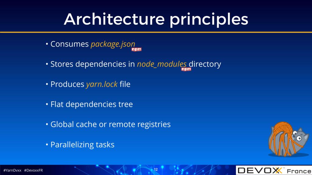#YarnDvxx #DevoxxFR Architecture principles 12 ...