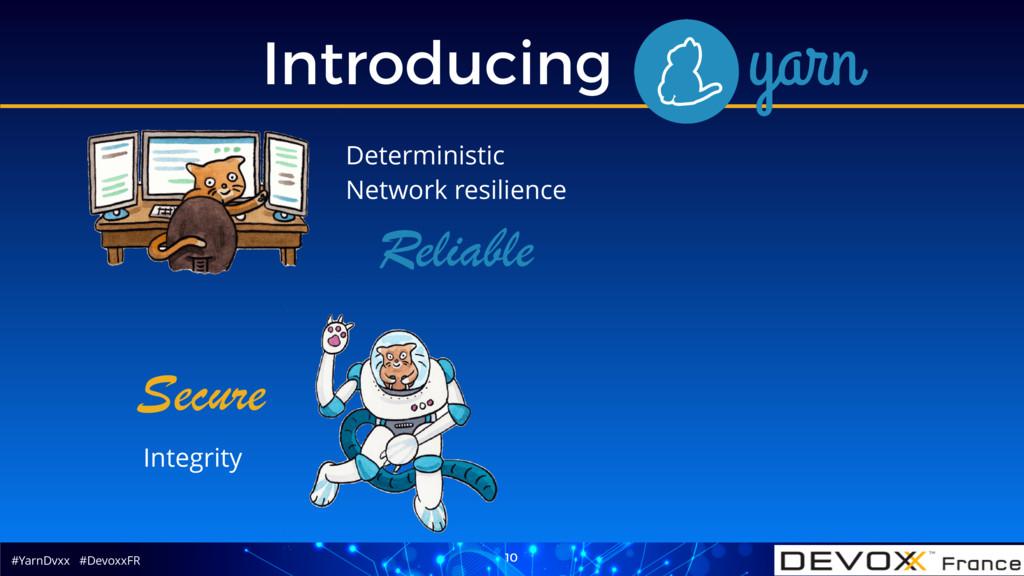 #YarnDvxx #DevoxxFR Introducing Yarn 10 Secure ...