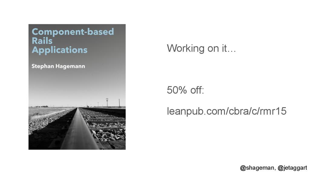 Working on it… 50% off: leanpub.com/cbra/c/rmr1...