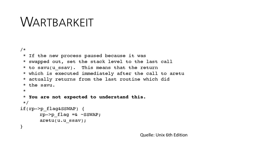WARTBARKEIT /* * If the new process paused beca...