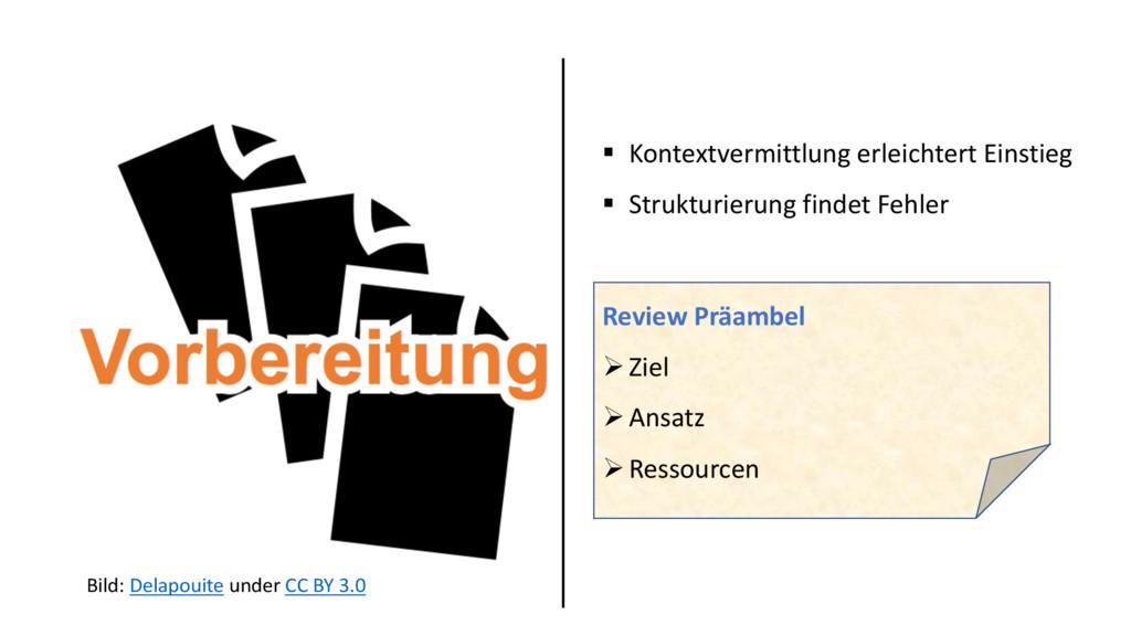 § Kontextvermittlung erleichtert Einstieg § Str...