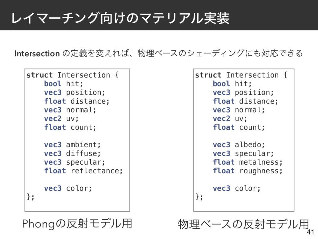 ϨΠϚʔνϯά͚ͷϚςϦΞϧ࣮ Intersection ͷఆٛΛม͑Εɺཧϕʔεͷγ...