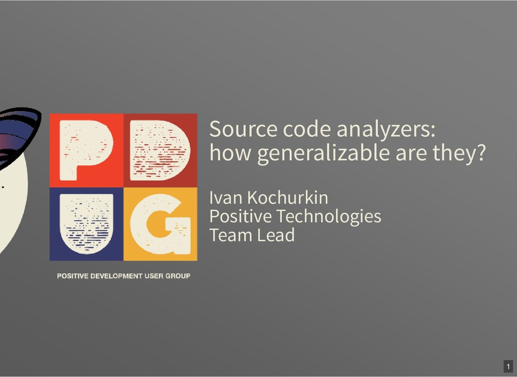Source code analyzers: how generalizable are th...