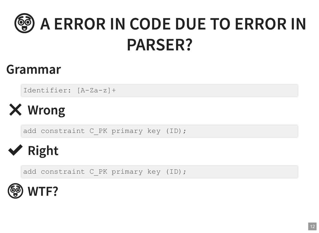 A ERROR IN CODE DUE TO ERROR IN  A ERROR IN CO...
