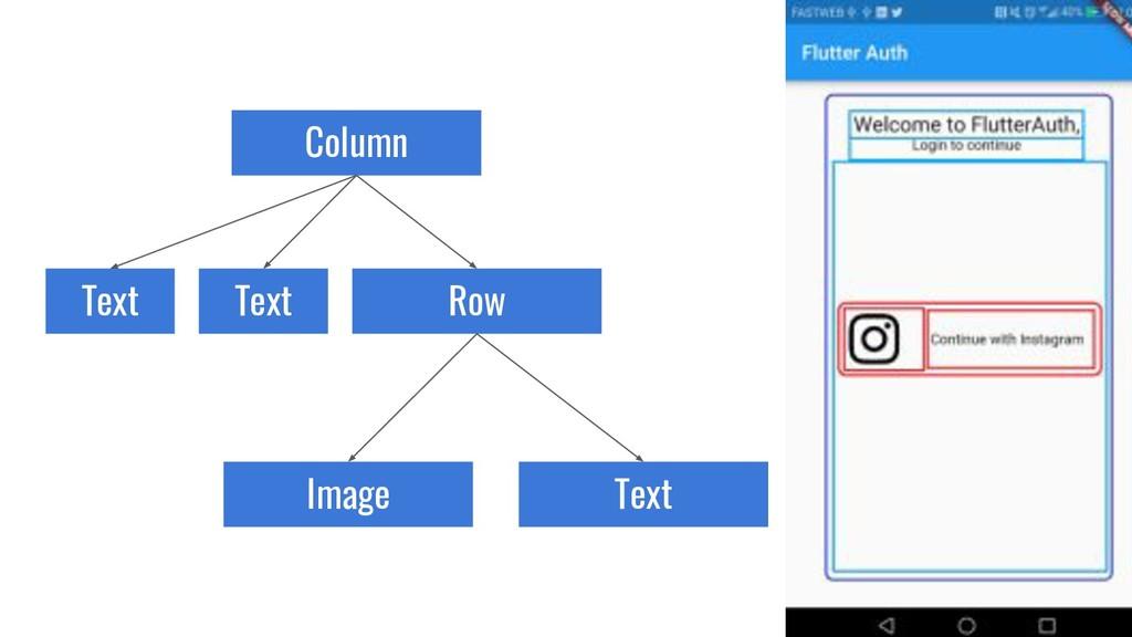 Column Text Text Image Row Text