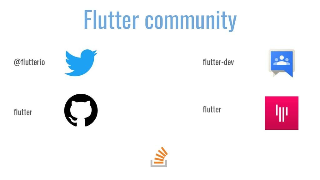 Flutter community @flutterio flutter flutter-de...