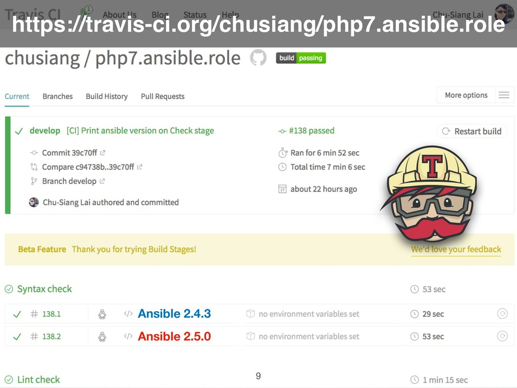 https://travis-ci.org/chusiang/php7.ansible.rol...