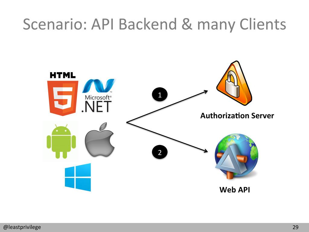 29  @leastprivilege  Scenario: API ...