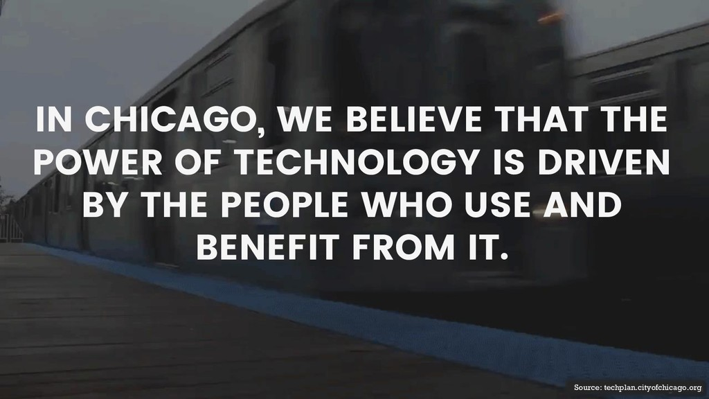 Source: techplan.cityofchicago.org IN CHICAGO, ...
