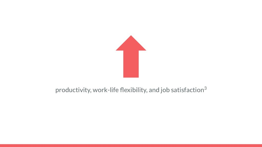 productivity, work-life flexibility, and job sat...