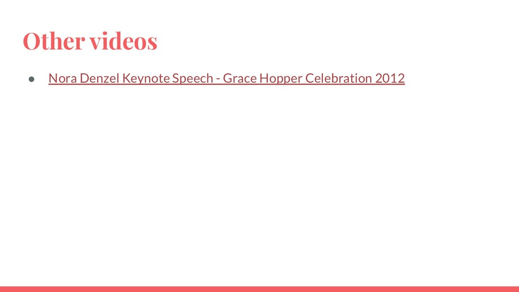 Other videos ● Nora Denzel Keynote Speech - Gra...
