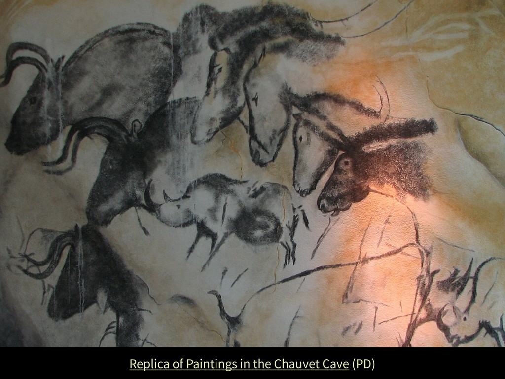 Replica of Paintings in the Chauvet Cave (PD)