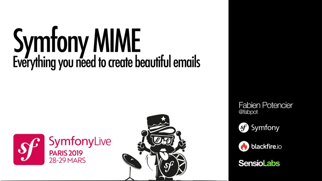 Symfony MIME Everything you need to create beau...