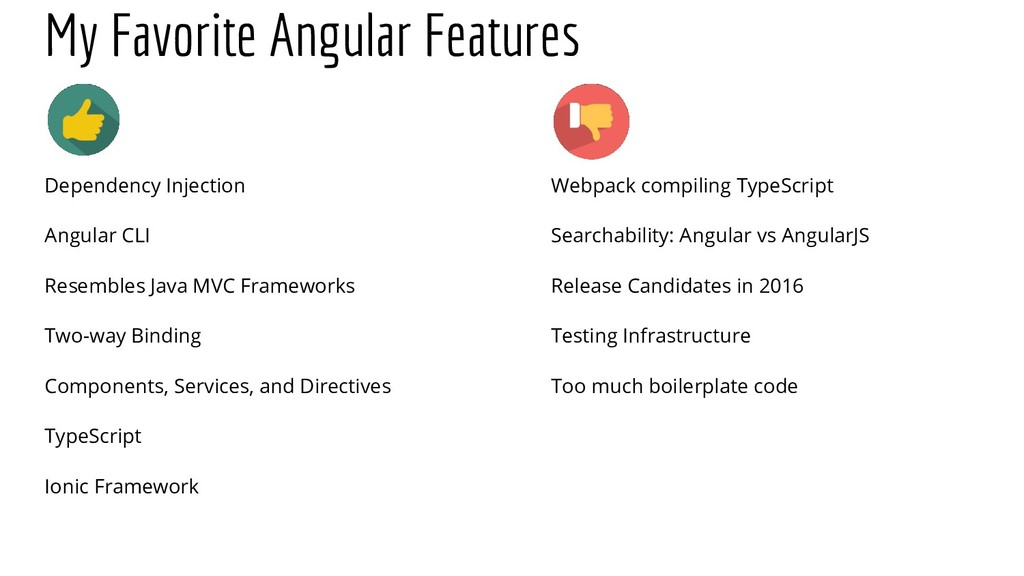 My Favorite Angular Features Dependency Injecti...