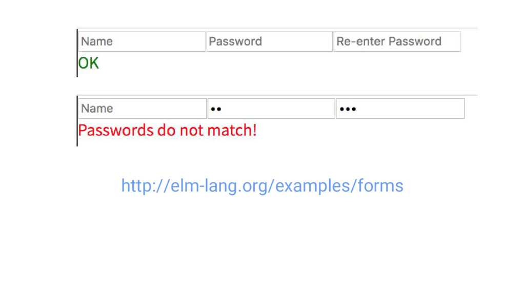 http://elm-lang.org/examples/forms