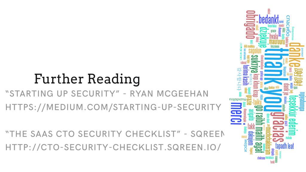 """""""STARTING UP SECURITY"""" - RYAN MCGEEHAN HTTPS://..."""
