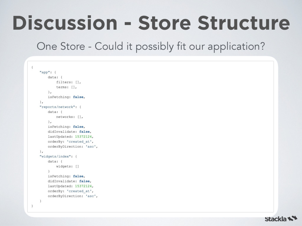 Discussion - Store Structure One Store - Could ...