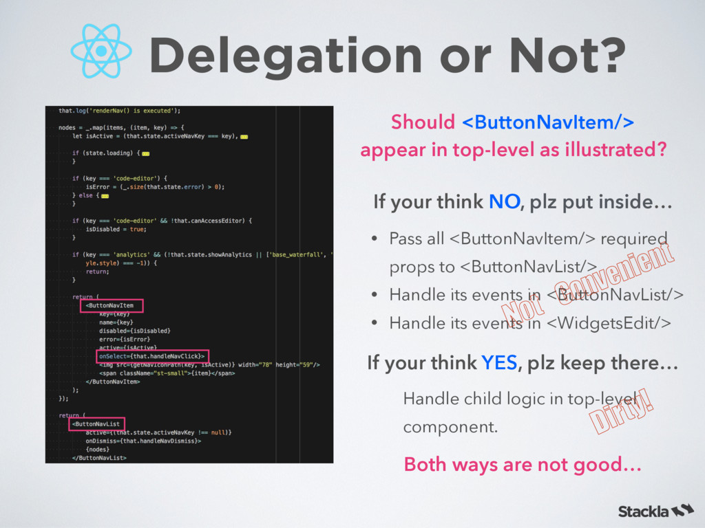 Delegation or Not? If your think NO, plz put in...