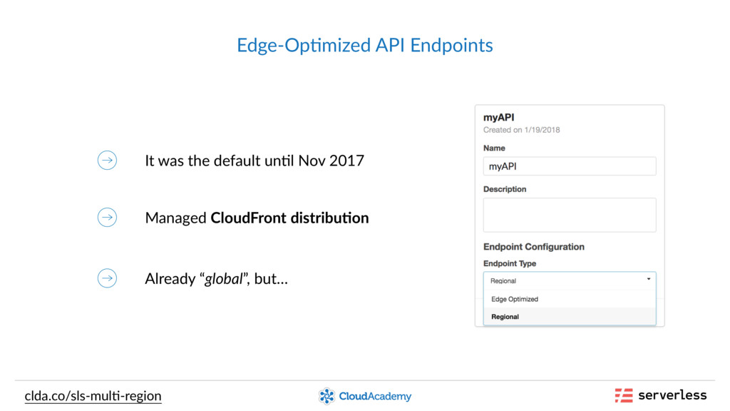 Edge-Op,mized API Endpoints It was the default ...