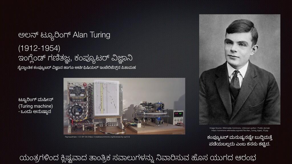 """ಅಲM ಟೂD""""ಂp Alan Turing (1912-1954) ಇಂ,qಂr ಗsತt,..."""