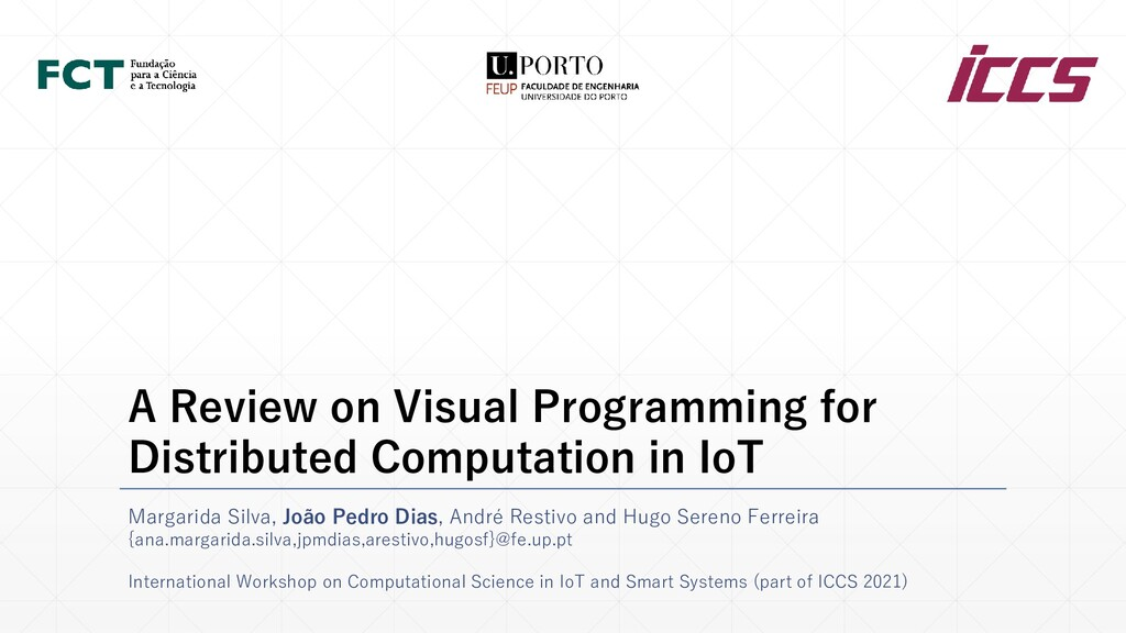 A Review on Visual Programming for Distributed ...