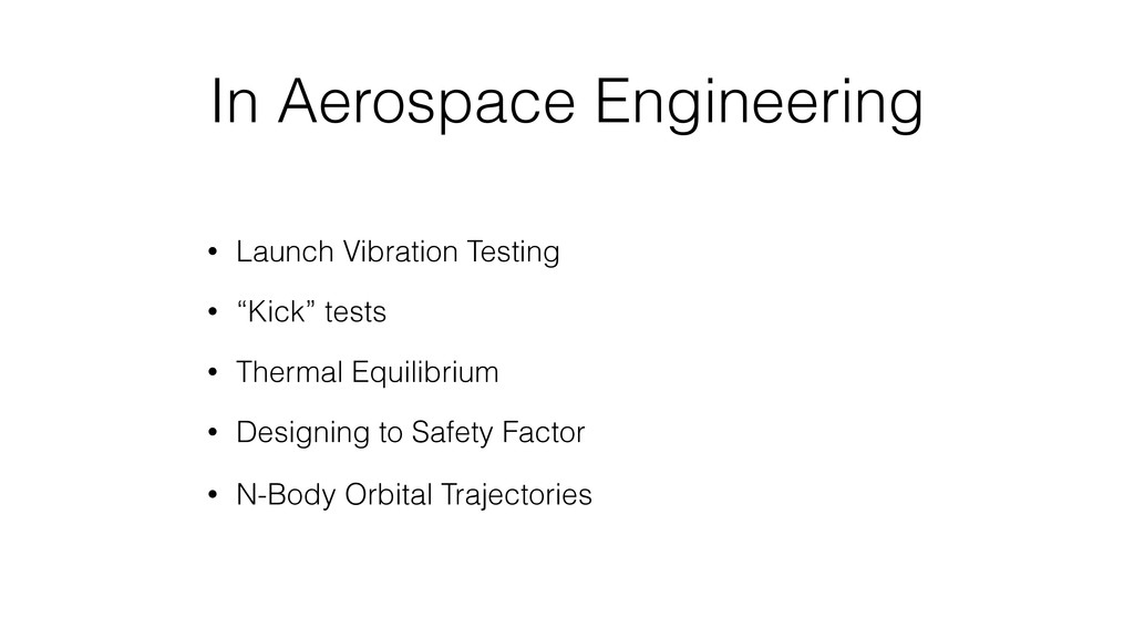 In Aerospace Engineering • Launch Vibration Tes...