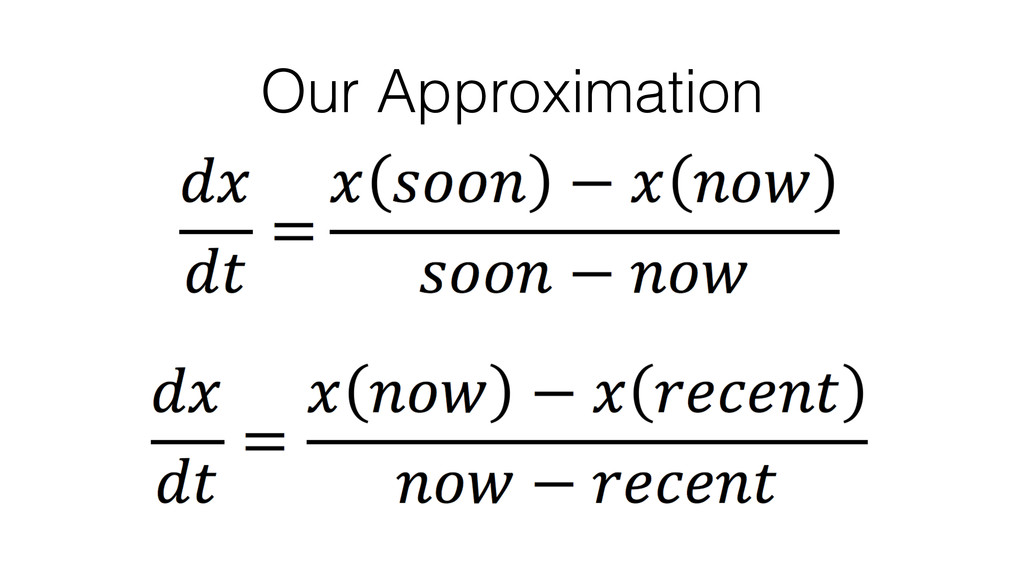 Our Approximation