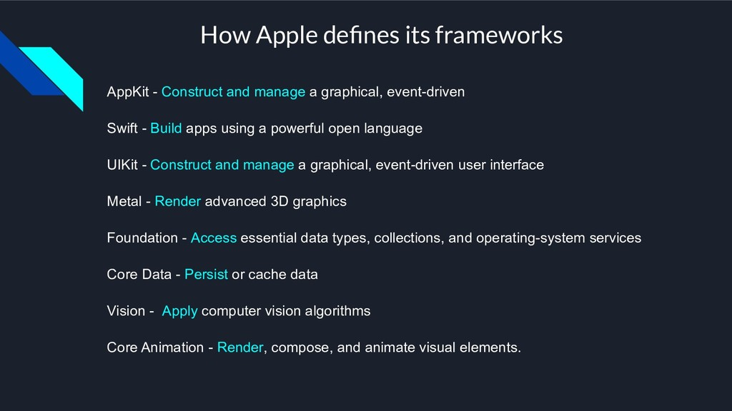AppKit - Construct and manage a graphical, even...