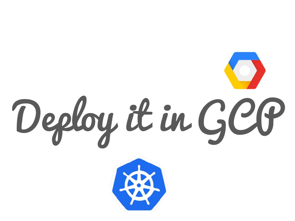 Deploy it in GCP