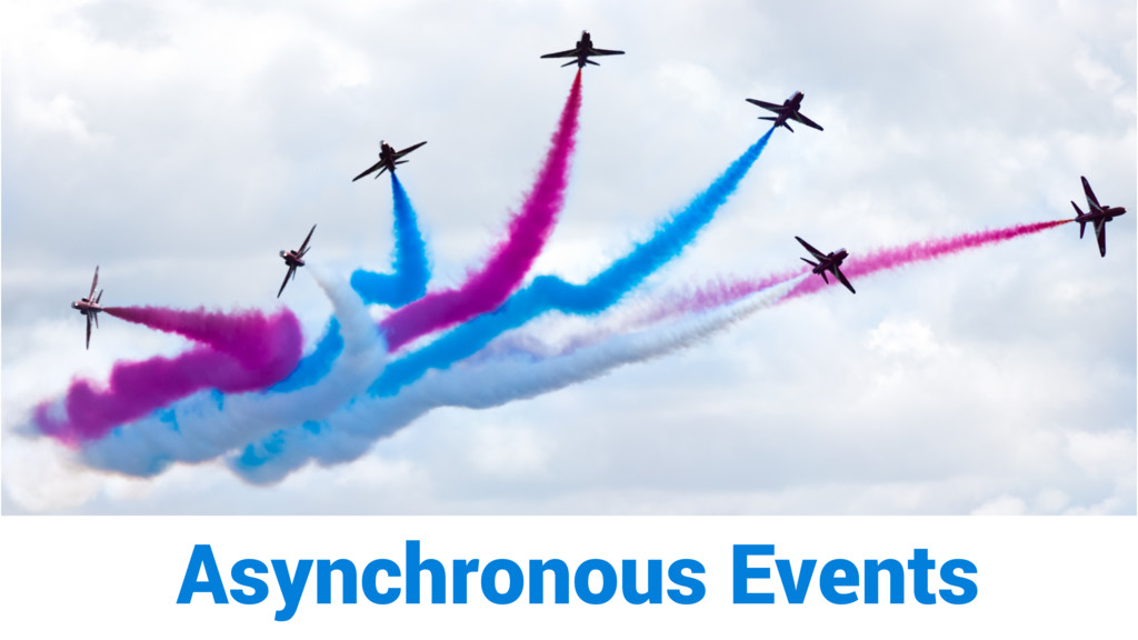 Asynchronous Events